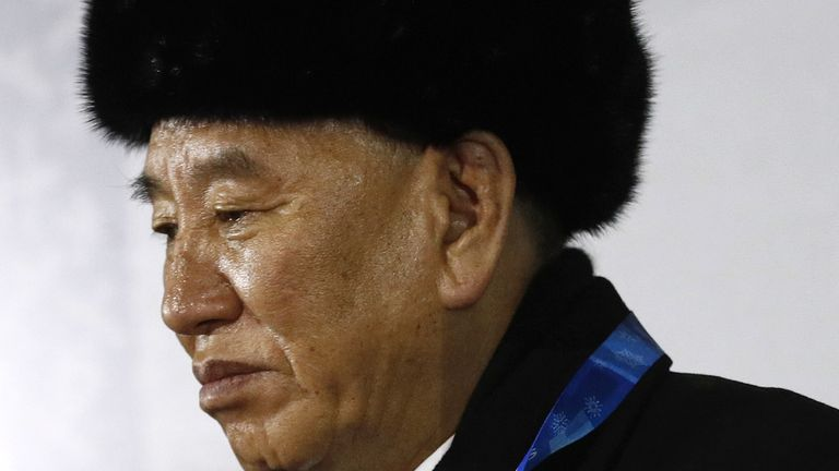 Kim Yong Chol was a top negotiator in nuclear talks with the US before their collapse