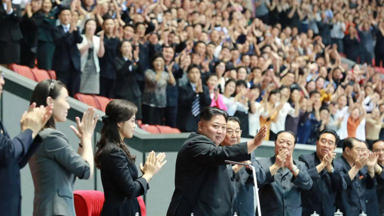 Kim Yo Jong was seen for the first time in 50 days
