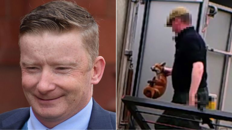 Paul Oliver, the former master of hounds with the South Herefordshire Hunt, wasrecorded by covert cameras planted by anti-bloodsports activists and was found guilty of four counts of animal cruelty.