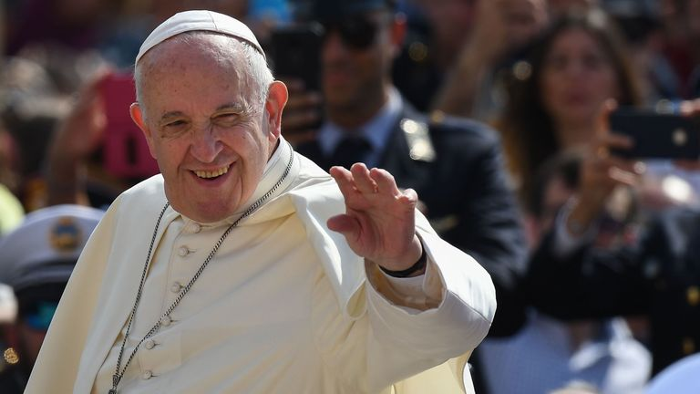 Pope Francis has approved changes to the wording of the Lord's Prayer