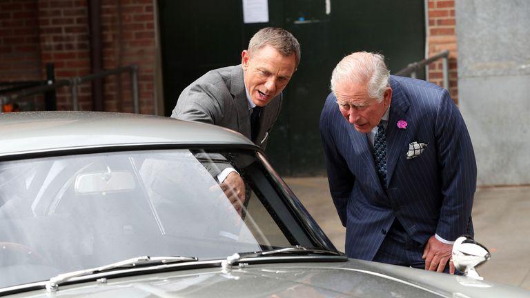Prince Charles meets Bond
