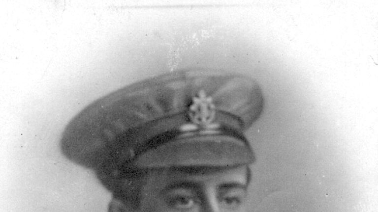 Undated family handout photo of Private Frank Mead, 23, who fought during World War One and is being buried on Wednesday alongside Private Henry Wallington, 20 and an unknown soldier who all served with the 23rd (County of London) Battalion and who were killed during the Battle of Cambrai.