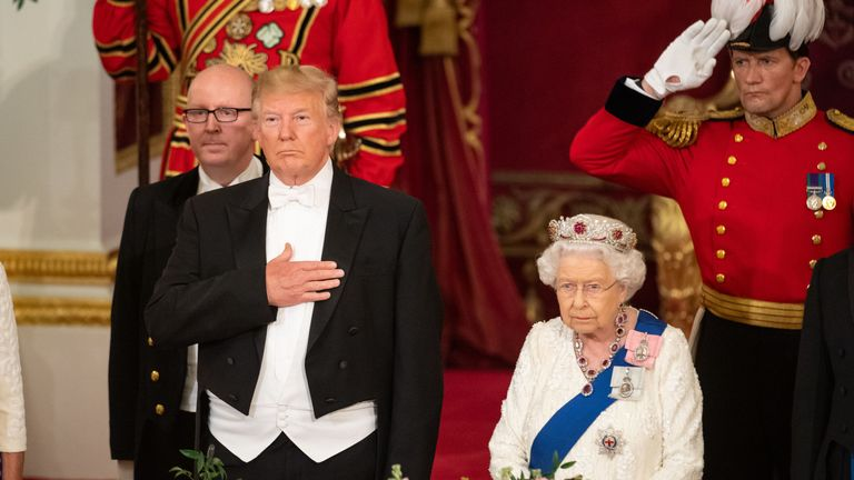 The Queen will be joined by Donald Trump at the D-Day commemorations