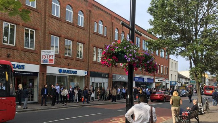 Surbiton was one of the many areas affected by the rail strikes. Pic: Network Rail