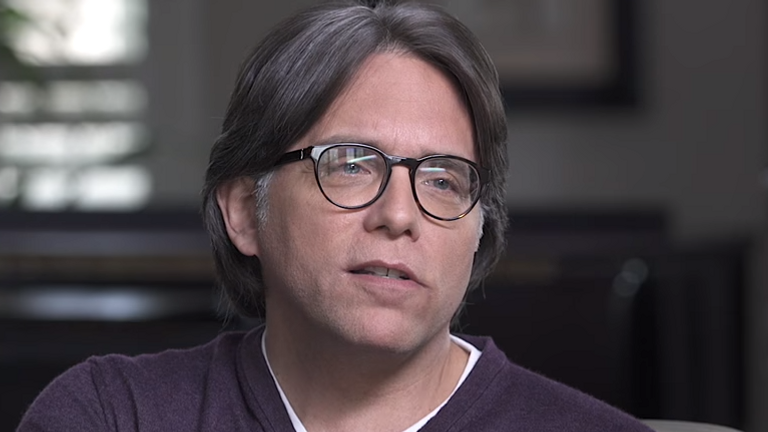 Keith Raniere has been found guilty of sex trafficking. Pic: Youtube/ Keith Raniere Conversations