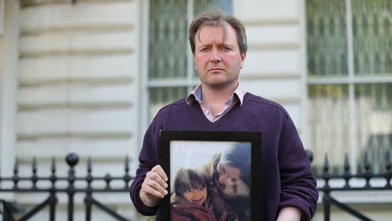 Richard Ratcliffe, husband of British-Iranian woman Nazanin Zaghari-Ratcliffe