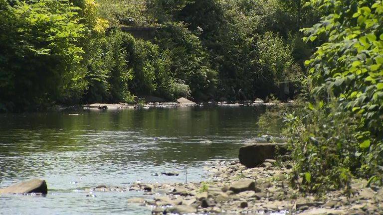 Police have repeated their warnings about playing near rivers