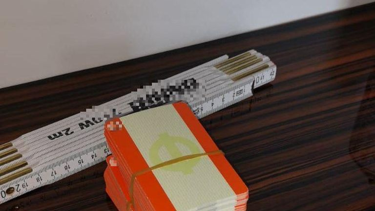 The criminal gang was producing counterfeit train cards. Pic: Europol