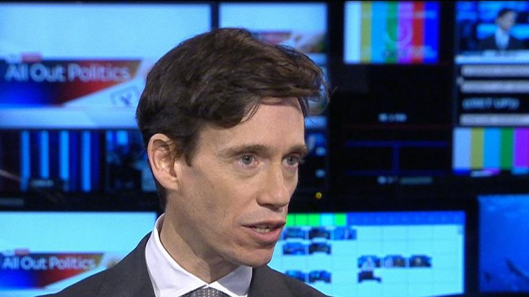 Rory Stewart ponders his effectiveness in a debate without a live audience