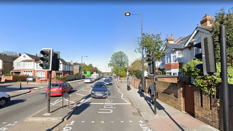 The incident happened in Richmond, southwest London