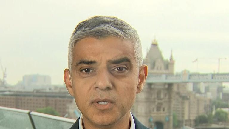 Sadiq Khan objects to Donald Trump's state visit to the UK