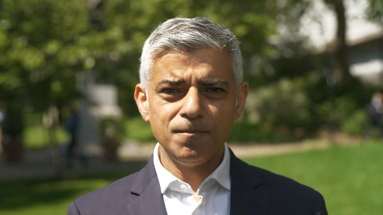 Sadiq Khan has said he is 'concerned' about the recent spate of murders
