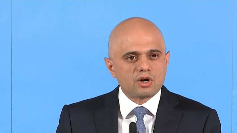 Sajid Javid says Boris Johnson is 'yesterday's news'