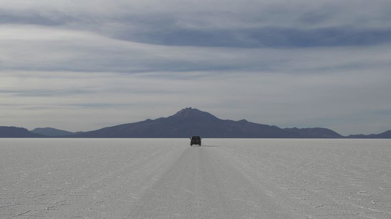 The Salar de Uyuni in Bolivia (File pic)