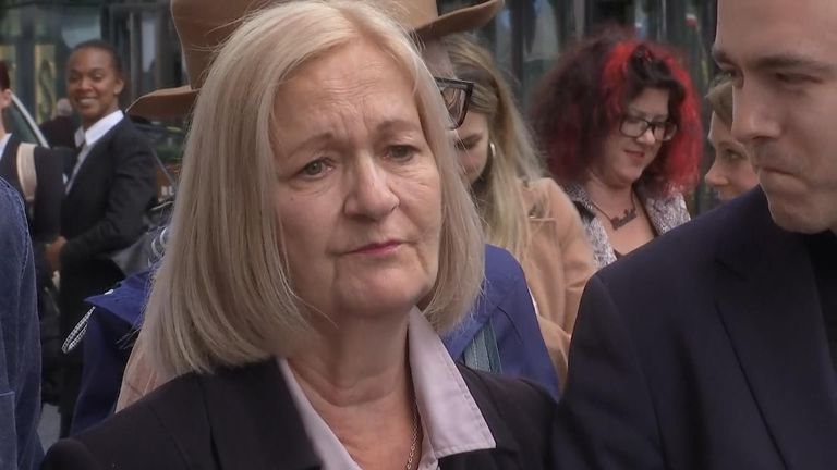 Sally Challen had served almost 10 years after being convicted of murdering her husband following a trial in 2011.