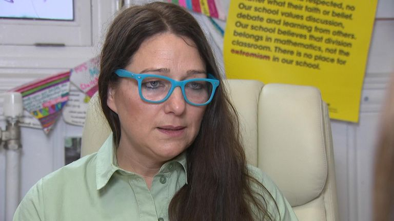 "Sarah Hewitt-Clarkson said an injunction banning protests outside the gates had been helpful but claimed the damage done to Anderton Park Primary School has been ""almost immeasurable""."