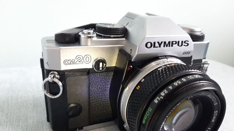 Undated Avon & Somerset Police handout photo of a Olympus OM20 camera similar to one owned by Shelley Morgan, who was murdered in 1984