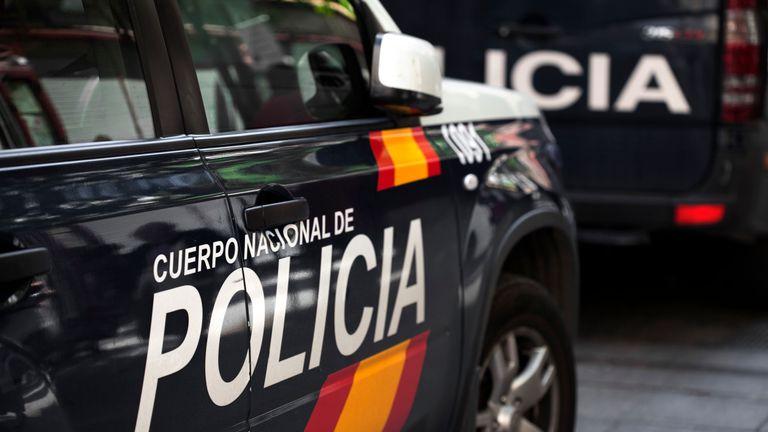 Spain - police