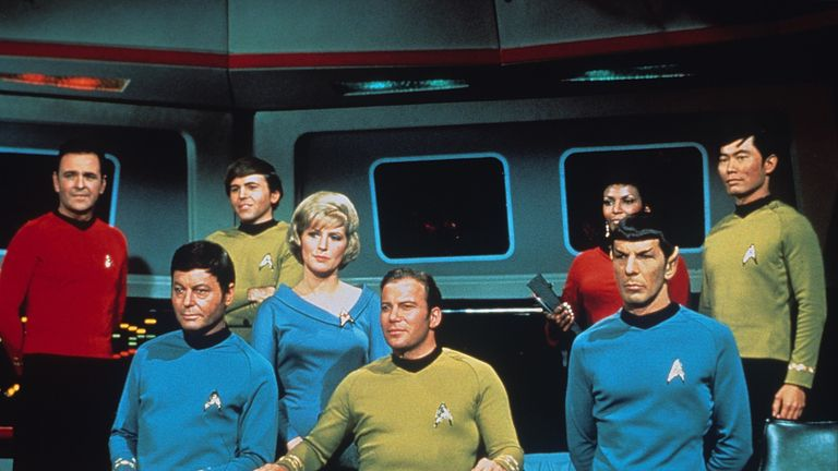 Star Trek team