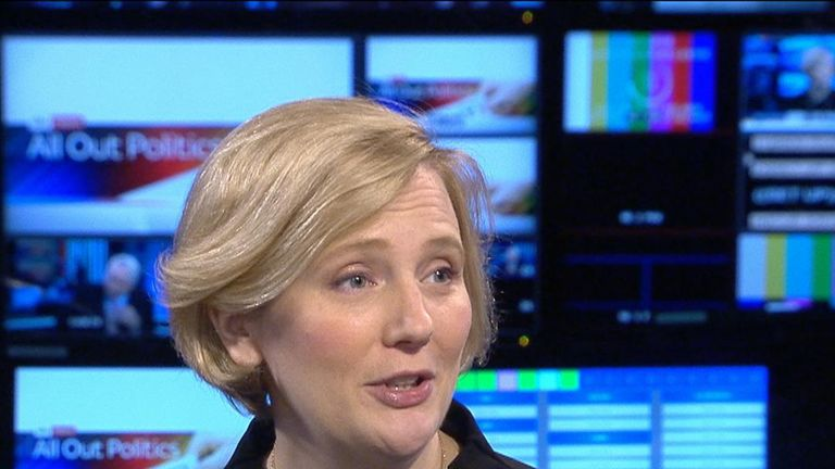 Labour's Stella Creasy speaks out on the issue of maternity leave for MPs