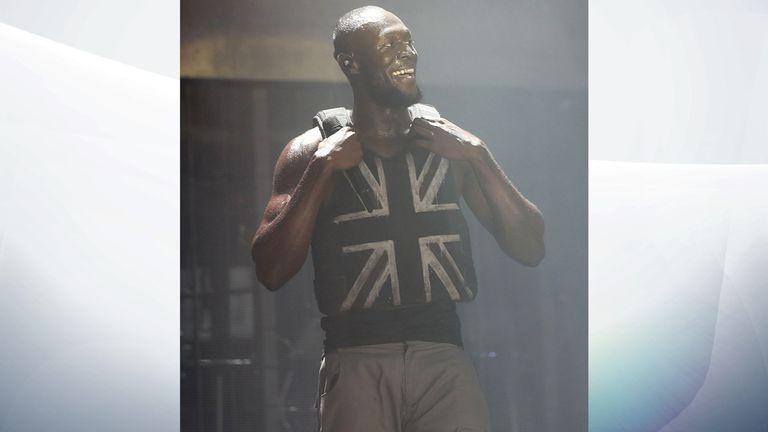 Banksy says he made Stormzy's Glastonbury stab-proof vest