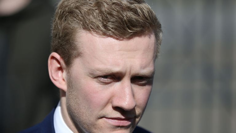Stuart Olding was also acquitted of rape