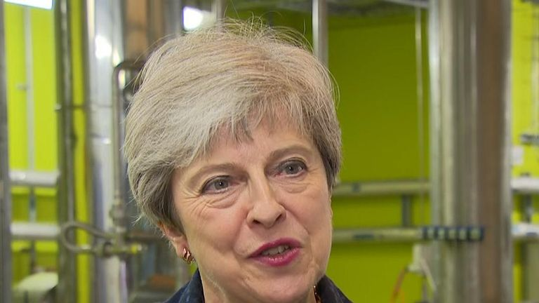 Theresa May says a new Tory leader will have to deal with unchanged 'parliamentary arithmetic'