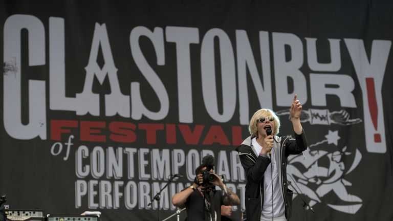 Tim Burgess, lead singer of The Charlatans