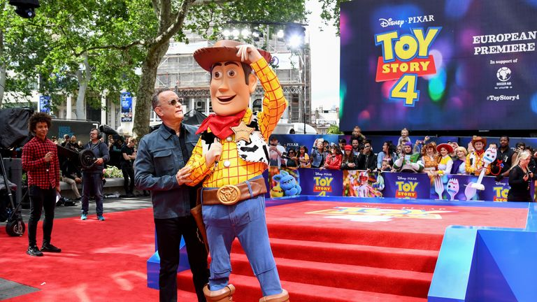 Toy Story 4 Halloween Costumes.Us Actor Tom Hanks Has Said He Had To Take A Moment To Collect Himself After Reading The Final Lines Of Toy Story 4
