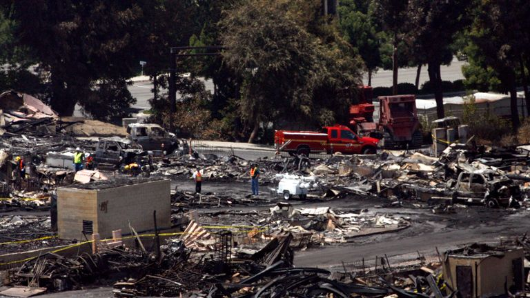 Universal Studios fire in 2008