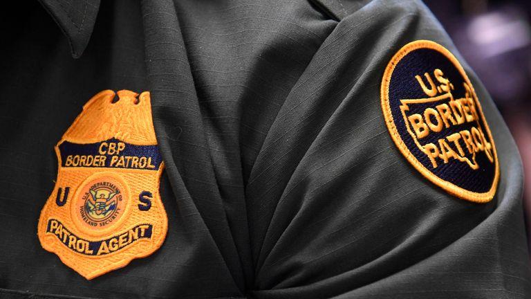 US Border Patrol agent
