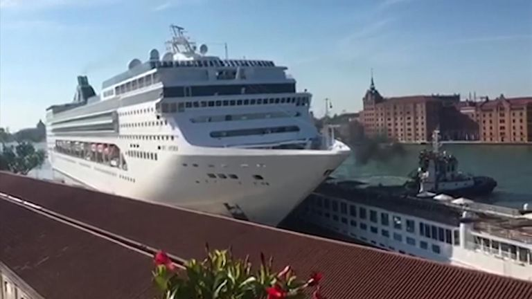 Mechanical issues caused the crash, according to MSC Cruises