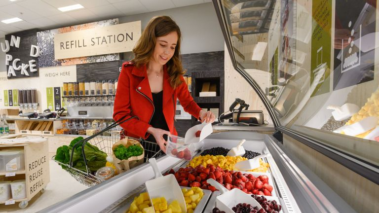 Customers will be able to make use a 'pick and mix' frozen fruit section