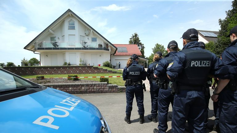 Mr Lübcke was discovered outside his home with a gunshot wound to the head on Sunday morning