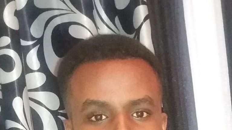 Undated handout photo issued by the Metropolitan Police of Yusuf Mohamed who was stabbed to death in Uxbridge Road, Shepherd's Bush, on Wednesday night. PRESS ASSOCIATION Photo. Issue date: Friday June 28, 2019. The 18-year-old, from Hammersmith, was attacked in Shepherd's Bush at around 9.20pm