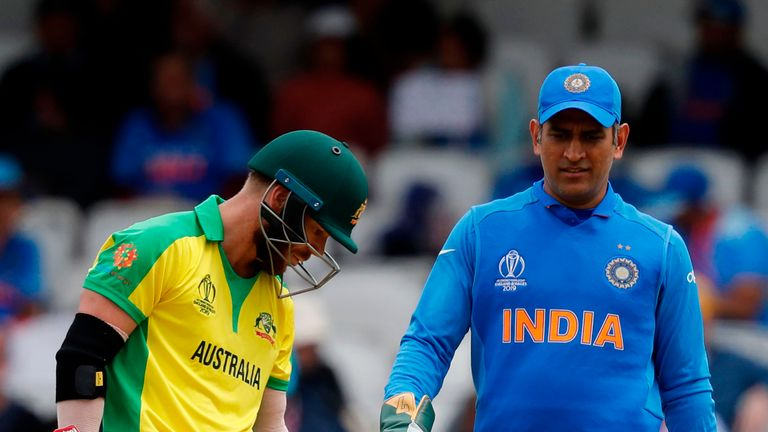 The stumps were hit but the bails not dislodged for a staggering fifth time in this ICC Cricket World Cup, with Australia's David Warner the beneficiary this time
