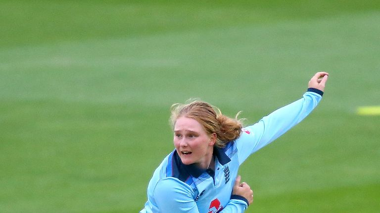 Knight say Bryony Smith bowled brilliantly on her ODI debut against West Indies.