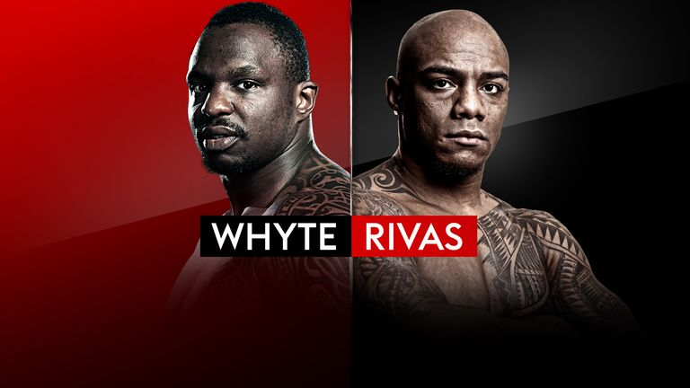 Whyte vs Rivas on SSBO