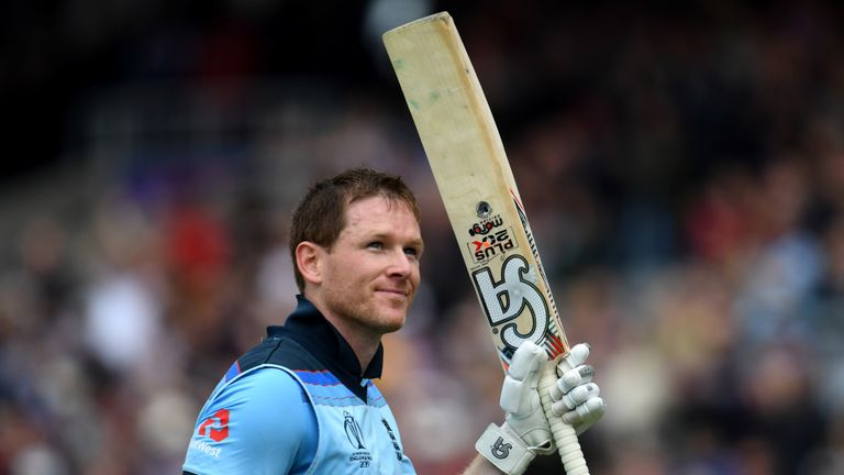 Eoin Morgan, England captain, Cricket World Cup vs Afghanistan at Old Trafford