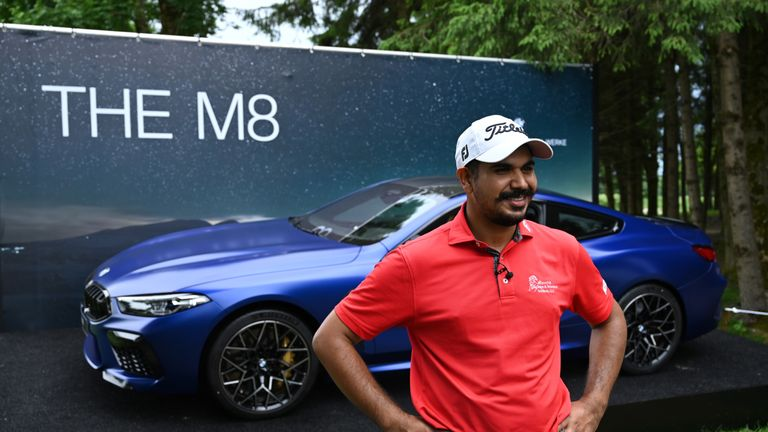 Gaganjeet Bhullar is the proud owner of a brand new BMW M8 Coupe after making a sensational hole-in-one during the second round of the BMW International Open