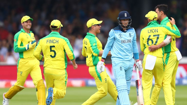 Back-to-back defeats for England as Australia earned a 64-run win at Lord's
