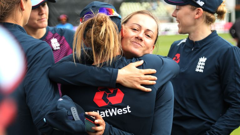 Heather Knight heaped praise on spinner Laura Marsh as she became the ninth player to 100 ODI caps for England Women.