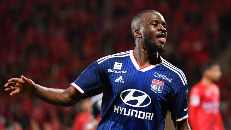 Tanguy Ndombele impressed for Lyon last season