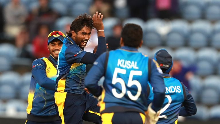 Highlights from Cardiff as Sri Lanka beat Afghanistan on day six of the Cricket World Cup