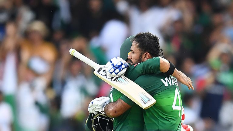 Watch the pick of the action as Pakistan pulled off a thrilling three-wicket win over Afghanistan to move ahead of England in the World Cup table.