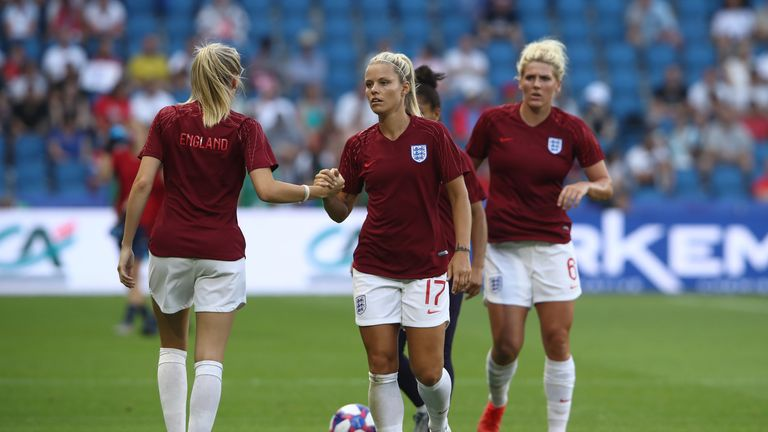 Rachel Daly has helped England reach the World Cup semi finals