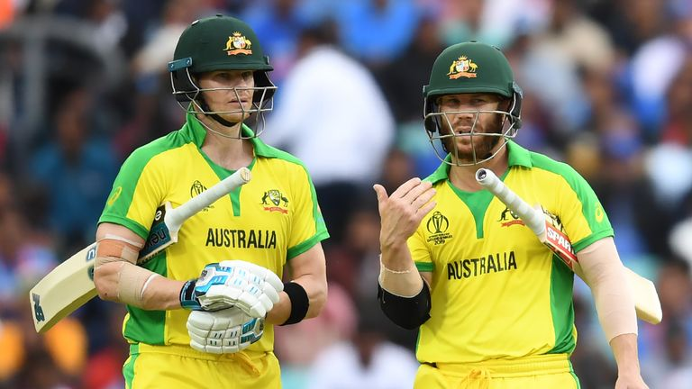 Steve Smith and David Warner have been booed throughout the World Cup so far