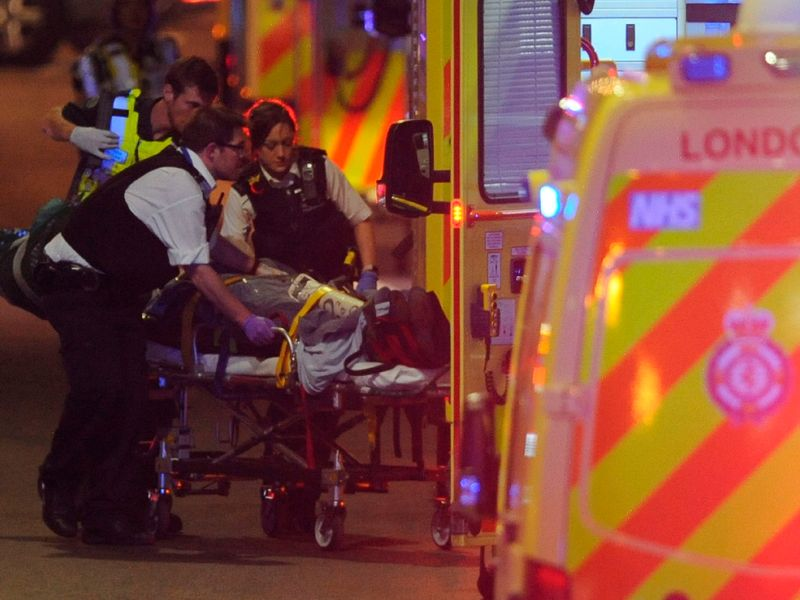 Police officers relive night of terror in London
