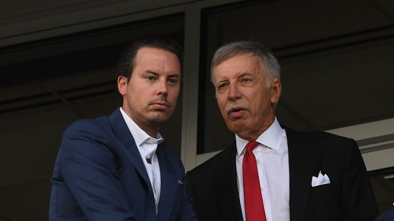 Stan Kroenke's ownership at Arsenal has been 'shambolic', the Daily Telegraph's Matt Law told Sunday Supplement.