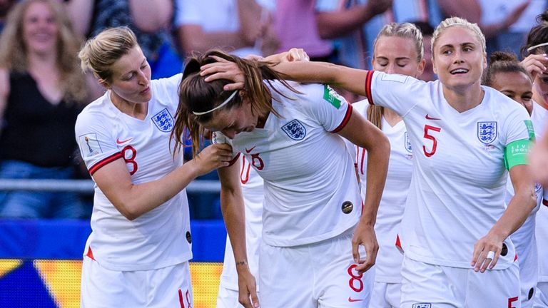England prepare to face USA in the Women's World Cup semi-final on Tuesday and Sky Sports News' Jess Creighton is in Lyon to preview the game